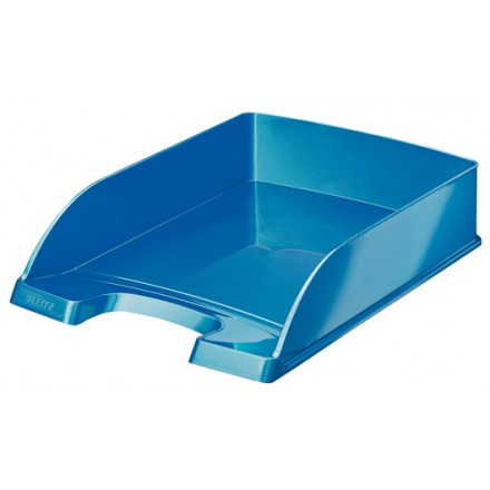 Brievenbak Leitz Plus WOW PS A4 blauw metallic (5226336)