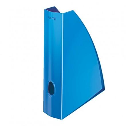 Tijdschriftencassette Leitz WOW PS A4 blauw metallic (5277136)