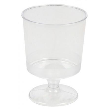 Wijnglas 190ml transparant (16)