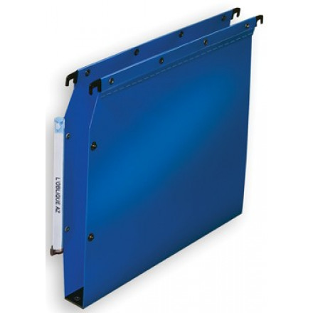 Hangmap Elba Ultimate PP kast 330mm 30mm bodem blauw