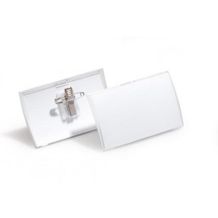 Badge Durable Click Fold 54x90mm met combiklem (25)(D821419)