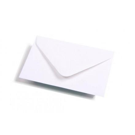 Omslag adreskaart 90X140 wit 120GR (500)