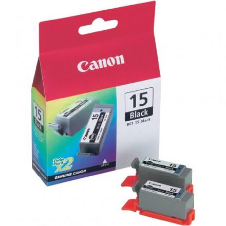 Canon inkjet I70/I80 inkt BCI-15 BK (duo)