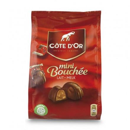 Côte d'or mini bouchées melk 122gr (10 pakjes)
