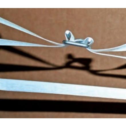 Gespen voor omsnoeringsband metaal type SG16 (1000)