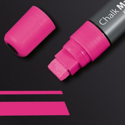 Krijtmarker Sigel 150 schuin 5-15mm roze