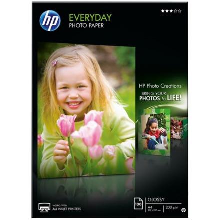 HP fotopapier everyday semi-glossy A4 200GR (100)