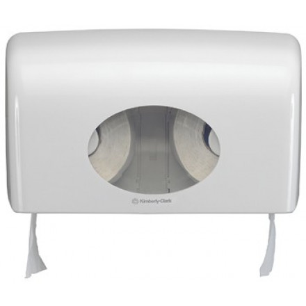 Toiletpapierdispenser Kimberly Clark Aquarius kleine rol wit