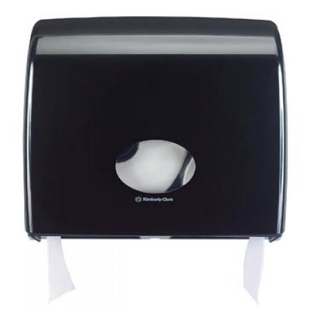 Toiletpapierdispenser Kimberly Clark Aquarius Jumbo zwart