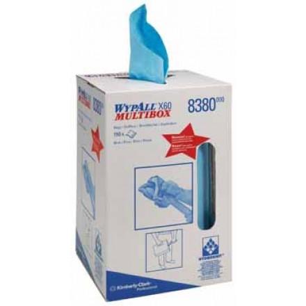 Reinigingsdoek Wypall X60 Multibox 42x24,5cm (150)