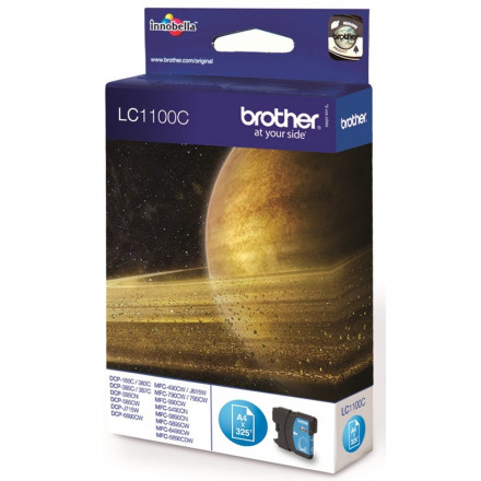 Cartridge Brother Inkjet LC1100 DCP-385C 325 pag. CY