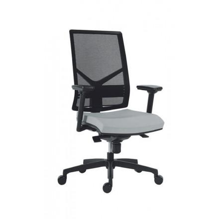 Bureaustoel Zonder Armleuning.Bureaustoel Mea 560 Zwart Zonder Armleuning Bureaustoelen