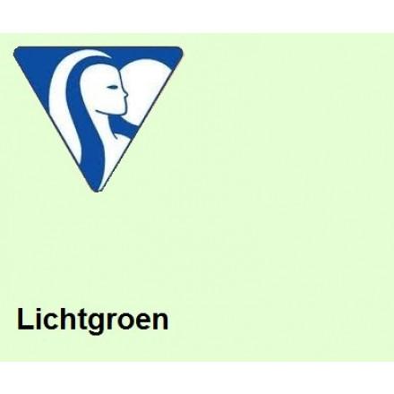 Clairefontaine DIN A4 160gr lichtgroen (250) - FSC Mix credit