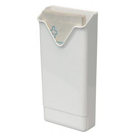 Dispenser Europroducts voor hygiënezakjes 290x135x60mm wit