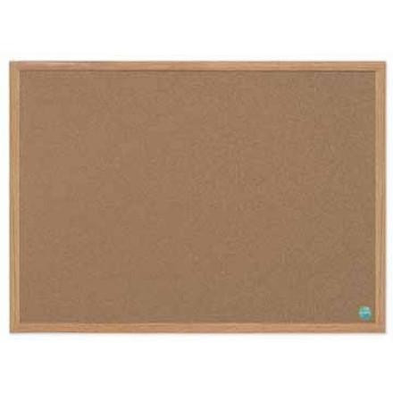 Kurkbord Bisilque 60x90cm houten frame