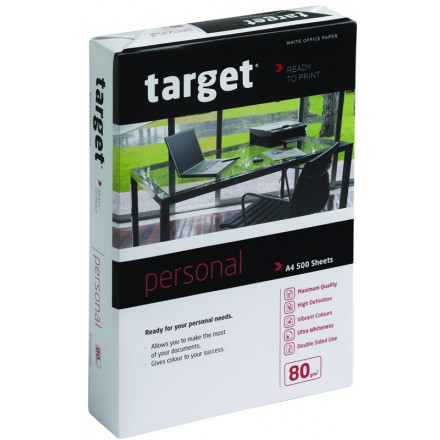 Target personal DIN A4 80gr wit (Pioneer PION01)- FSC Mix 70%