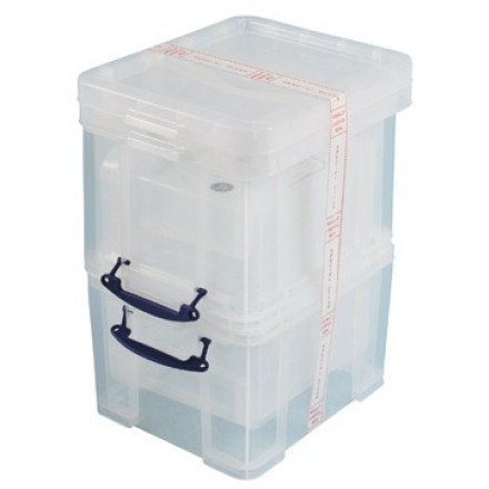 Opbergdoos Really Useful Box 35l transparant (3)