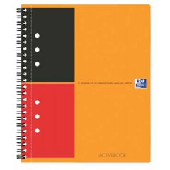Spiraalboek Oxford International Activebook PP A5+ gelijnd 160blz