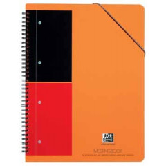 Spiraalboek Oxford International Meetingbook PP A4+ gelijnd 160blz