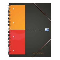 Spiraalboek Oxford International Meetingbook PP A5+ geruit 160blz