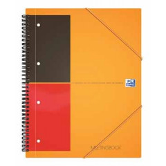 Spiraalboek Oxford International Meetingbook PP A5+ gelijnd 160blz