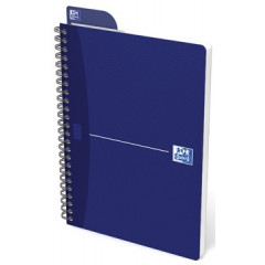 Spiraalschrift Oxford Office Essentials karton A5 geruit 180blz assorti