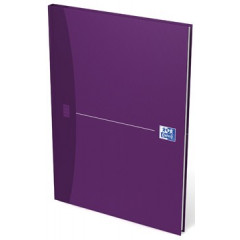 Notitieboek Oxford Office Essentials karton A4 geruit 192blz assorti