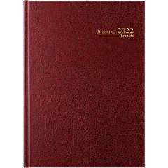 Agenda Brepols Bremax 2 Santex bordeaux 2020 1 dag/2 pagina's