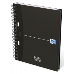Spiraalschrift Oxford Office Essentials Europeanbook karton A4+ gelijnd 240blz assorti