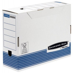 Archiefdoos Fellowes Bankers Box System 26x10x31,5cm blauw