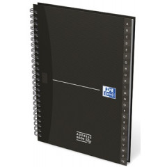 Adresboek Oxford Office Essentials karton A5 144blz assorti