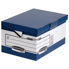 Archiefcontainer Fellowes Bankers Box Heavy Duty Ergo Maxi 37,8x54,5x29,3cm blauw