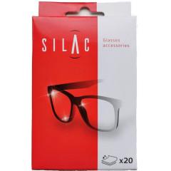 Poetsdoekjes Silac voor brillen (20)