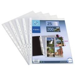 Showtas Viquel PP A4 4-vaks voor 8 foto's 10x15cm 11-gaats 90µ (25)