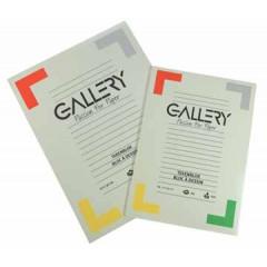 Tekenblok Gallery 27x36cm 120gr wit 24 vel