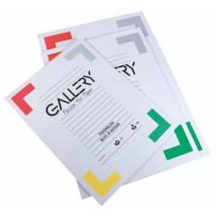 Tekenblok Gallery 24x32cm 190gr wit 20 vel