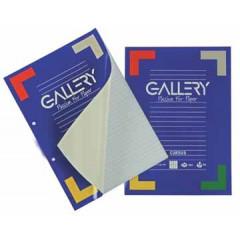 Cursusblok Gallery A4 80gr gelijnd
