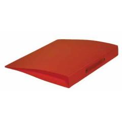 Ringmap Classex PP A4 2 O-ringen 16mm rug 2cm transparant oranje