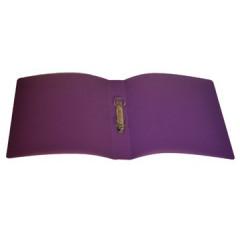 Ringmap Classex PP A4 2 O-ringen 16mm rug 2cm transparant violet