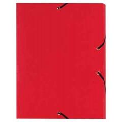 Elastobox Viquel A4 PP 3cm rood