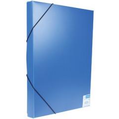 Elastobox Viquel A4 PP 3cm blauw