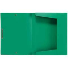 Elastobox Viquel A4 PP 3cm groen