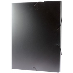 Elastobox Viquel A4 PP 3cm zwart