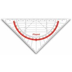 Geodriehoek Mapes Geo-Flex 16cm
