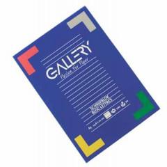 Schrijfblok Gallery gelijmd A5 gelijnd 100 vel 70gr