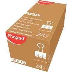 Foldbackclip Maped 24mm zwart (12)