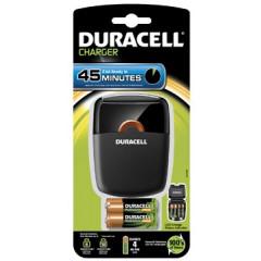 Batterijlader Duracell CEF27 incl 2x AA & 2x AAA batterijen
