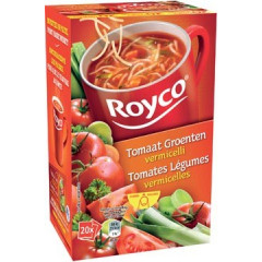 Minute soep Royco tomaat/groenten vermicelli classic (20)