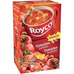 Minute soep Royco tomaat met balletjes/korstjes  (20)