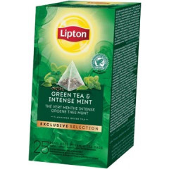 Thee Lipton groene munt exclusive selection (25)